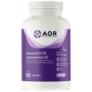 AOR High Dose Astaxanthin 30 Veg Softgels