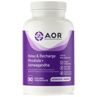 AOR Relax & Recharge 90 Veg Capsules