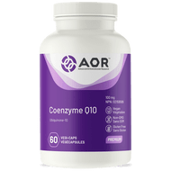 AOR CoEnzyme Q10 100 mg 60 Veg Capsules
