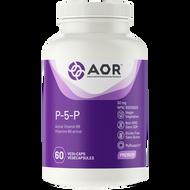 AOR P-5-P (Vitamin B6) 50 mg - 60 Veg Capsules