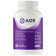 AOR D Glucarate Plus Milk Thistle 60 Veg Capsules