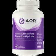 AOR Magnesium Glycinate 90 Veg Capsules