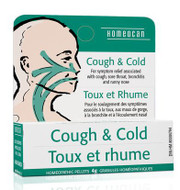 Homeocan Cough & Cold Pellets 4g
