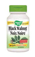 Nature's Way Black Walnut Hulls 100 Veg Capsules