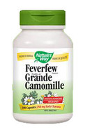 Nature's Way Feverfew Leaves 100 Veg Capsules