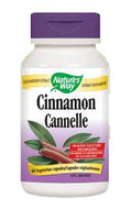 Nature's Way Cinnamon 60 Veg Capsules