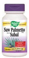 Nature's Way Saw Palmetto 60 Softgels