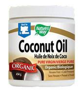 Nature's Way Coconut Oil Organic Pure Virgin 454 Grams
