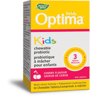 Nature's Way Fortify Optima Probiotic Kids Chewable Cherry 30 Tablets