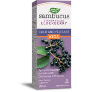 Nature's Way Kids Sambucus Cold and Flu Care Syrup 120 ml