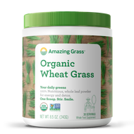 Amazing Grass Organic Wheat Grass 240 Grams 30 Servings