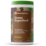 Amazing Grass Green Superfood Chocolate 480 Grams 60 Servings