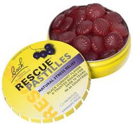 Bach Rescue Pastiles Blackcurrant 50 Grams