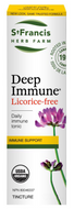 St Francis Deep Immune Licorice Free 50 Ml