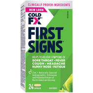 Cold-FX First Signs 24 Capsules