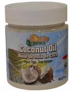 Gold Top Organics Coconut Oil Organic Virgin 454 Grams