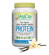 VegiDay Raw Organic Plant Based Protein French Vanilla 1110 g