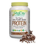 VegiDay Raw Organic Plant Based Protein Decadent Chocolate 1110 g