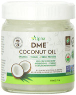 Alpha Health DME Raw Organic Virgin Coconut Oil 110 ml Original
