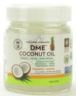Alpha Health DME Raw Organic Virgin Coconut Oil 110 ml Pineapple