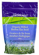 Herbal Select Milled Brown Flax Seed Organic 425 g