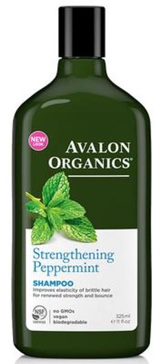 Avalon Organics Strengthening Peppermint Shampoo 325 ml