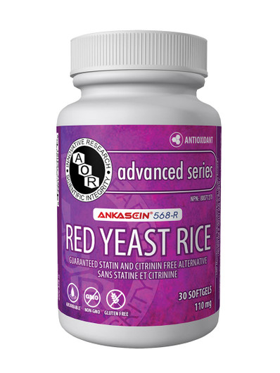 Aor Red Yeast Rice 30 Softgels (18063)