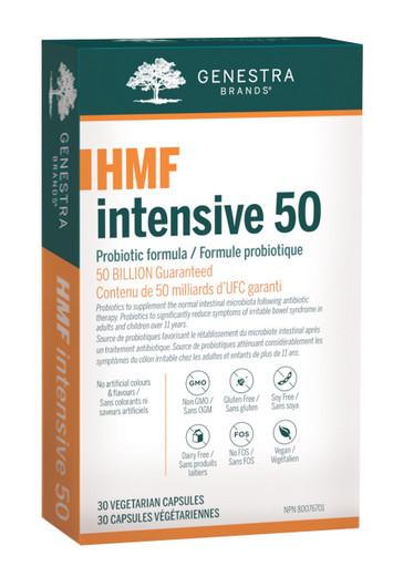 Genestra HMF Intensive 50 - 30 Veg Capsules (19922)
