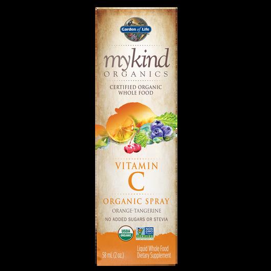 Garden of Life mykind Organics Vitamin C Spray Orange Tangerine 58 ml