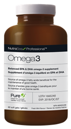 Ascenta Professional Omega 3 - 60 Softgels