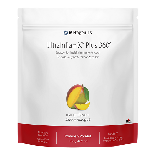 Metagenics UltraInflamX Plus 360 Mango 1320 g
