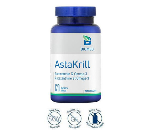 Biomed AstaKrill 120 Capsules