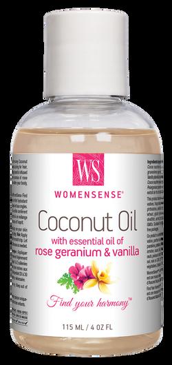 Womensense Coconut Oil with Rose Geranium & Vanilla Moisturizer 115 ml