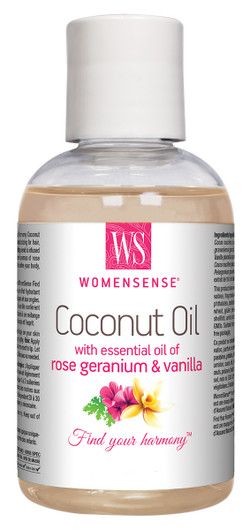 Womensense Coconut oil Rose Geranium & Vanilla Moisturizer 230 ml