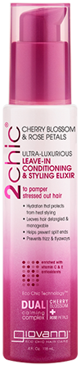 Giovanni 2chic Ultra Luxurious Leave-in Conditioning & Styling Elixir 118 ml (4 Oz)
