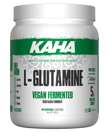 Ergogenics Nutrition Kaha Vegan Fermented L-Glutamine 400 g