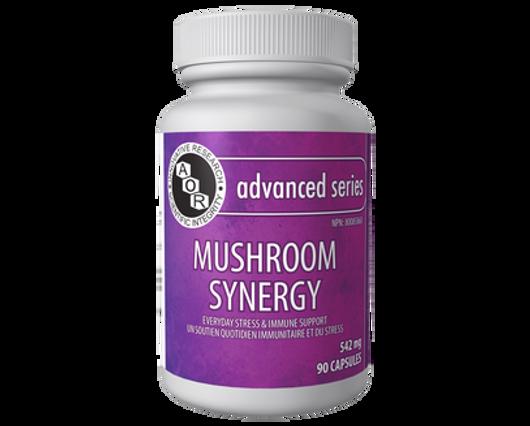 Aor Mushroom Synergy 90 Veg Capsules