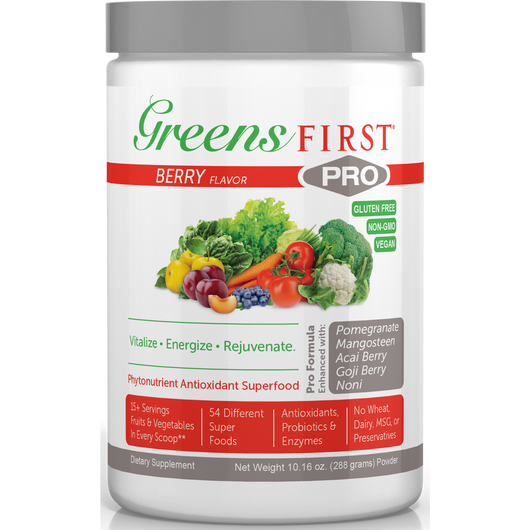 Greens First Pro Berry 288 Grams By Ceautamed