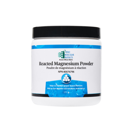 Ortho Molecular Products Reacted Magnesium Powder 30 Servings