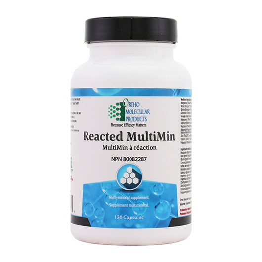 Ortho Molecular Products Reacted MultiMin 120 Capsules
