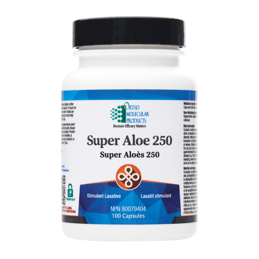 Ortho Molecular Products Super Aloe 250 100 Capsules