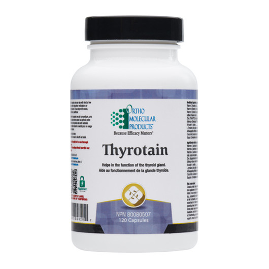Ortho Molecular Products Thyrotain 120 Capsules