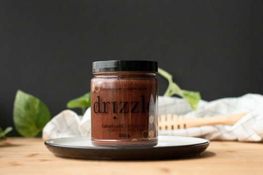 Drizzle Cacao Luxe Raw Honey 350g 2