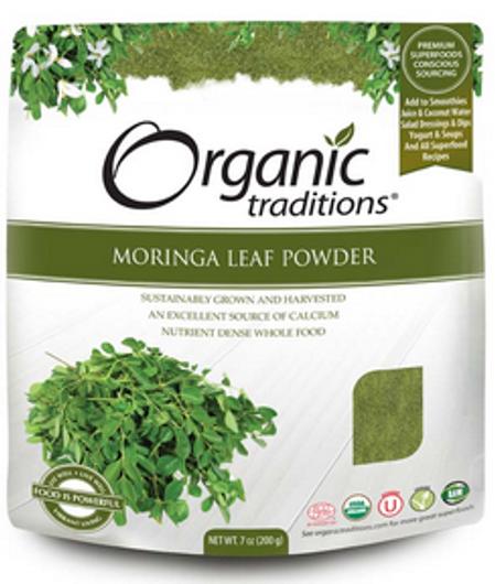 Organic Traditions Moringa Leaf Powder 200 grams