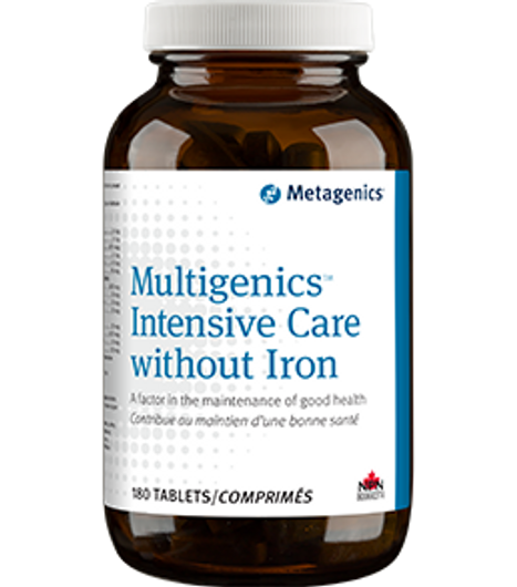Metagenics Multigenics Intensive Care without Iron 180 Tablets