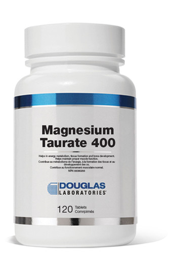 Douglas Laboratories Magnesium Taurate 400-120 Tablets
