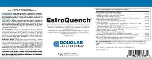 Douglas Laboratories Esteroquench 120 Capsules label