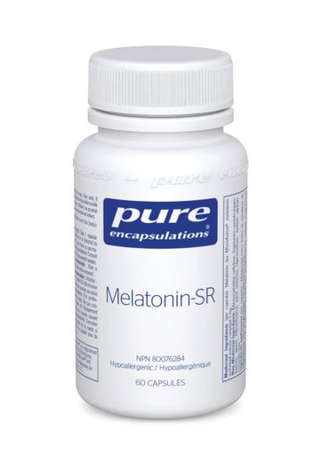 Pure Encapsulations Melatonin-SR 60 Capsules