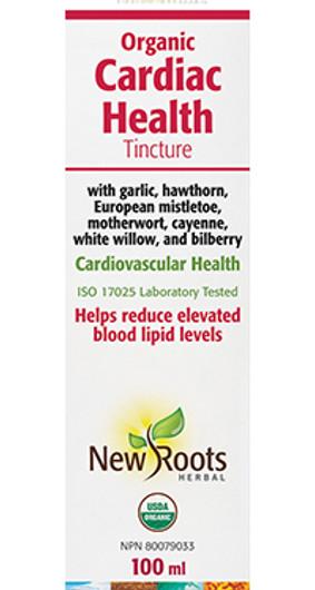 New Roots Organic Cardiac Health Tincture 100 ml