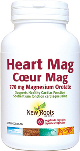 New Roots Heart Mag 60 Capsules